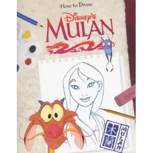 how-to-draw-disney-s-mulan-how-to-draw-series