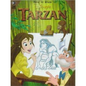 How to Draw Disney's Tarzan