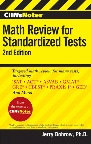 CliffsNotes Math Review for Standardized Tests, 2nd Edition by Jerry Bobrow