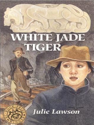 White Jade Tiger by Julie Lawson