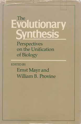 The Evolutionary Synthesis: Perspectives on the Unification of Biology,