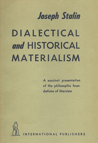 dialectical and historical materialism by joseph stalin 694454