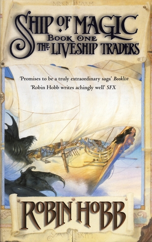 Liveship Traders series by Robin Hobb thumbnail