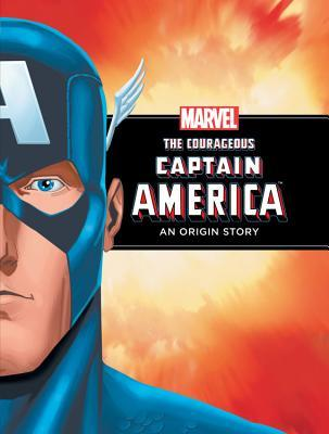 The courageous captain america: a marvel origin story by Rich Thomas