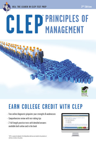 CLEP Principles of Management with Online Practice Exams by