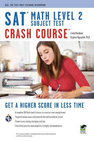 SAT Subject Test™: Math Level 2 Crash Course Book + Online