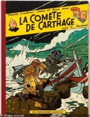 La Comète de Carthage por Yves Chaland