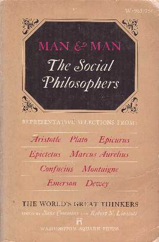 Man and Man: The Social Philosophers