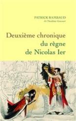 Deuxième chronique du règne de Nicolas...