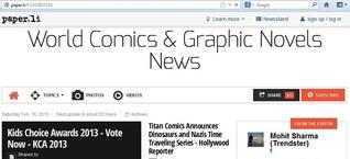 World Comics & Graphic Novels News