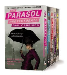 The Parasol Protectorate Boxed Set: Soulless, Changeless, Blameless, Heartless and Timeless