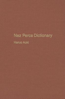 Nez Perce Dictionary