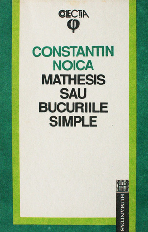 Mathesis sau bucuriile simple