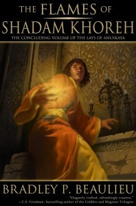 The Flames of Shadam Khoreh (Lays of Anuskaya, #3)
