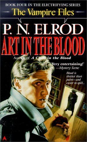 Art in the Blood by P.N. Elrod