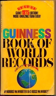 guinness book of world records 1975 by norris mcwhirter