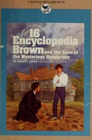 Encyclopedia Brown and the Case of the M...