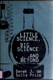 Little Science, Big Science-- And Beyond