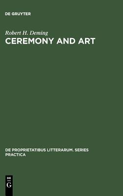 Ceremony and Art: Robert Herrick's Poetry