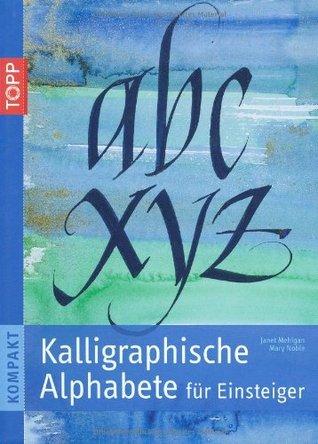 Kalligraphische Alphabete für Einsteiger