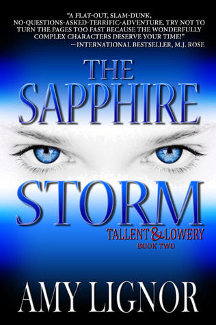 The thrill of seeing her sapphire