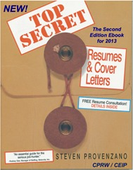 Top Secret Resumes & Cover Letters: The 2nd Edition Career Ebook