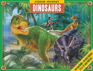 Book and Puzzle: Dinosaurs