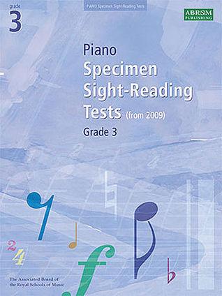 Piano Specimen Sight-Reading Tests: Grade 3