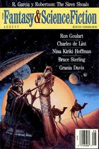 The Magazine of Fantasy and Science Fiction, August 1993 (The Magazine of Fantasy & Science Fiction, #507)