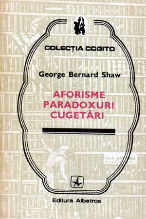 Aforisme, paradoxuri, cugetări
