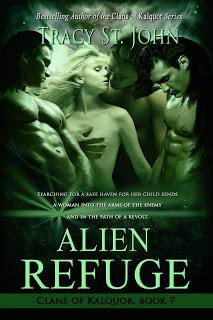 Alien Refuge (Clans of Kalquor, #7)