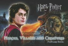 Harry Potter and the Goblet of Fire: Heroes, Villains And Creatures: Postcard Book