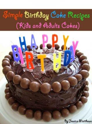 Simple Birthday Cake Recipes