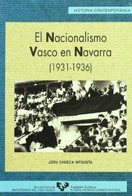 El nacionalismo vasco en Navarra (1931 1936)