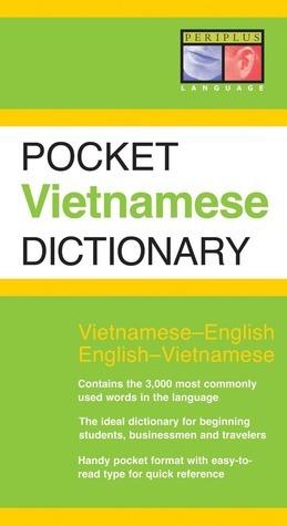 Pocket Vietnamese Dictionary: Vietnamese-English English-Vietnamese