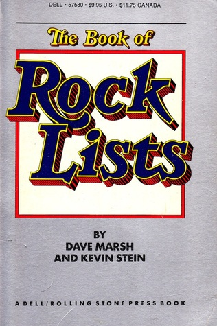 The Book of Rock Lists by Dave Marsh