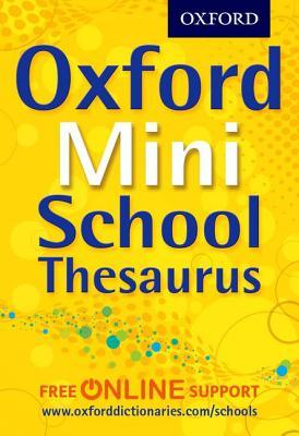 Oxford Mini School Thesaurus.