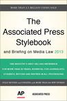 The Associated Press Stylebook 2013 by Associated Press