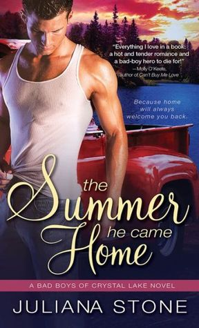 The Summer He Came Home(Bad Boys of Crystal Lake 1)