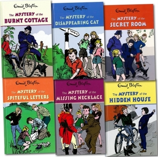 Enid Blytons Mysteries series 6 Books Set Collection Childrens Classic Books