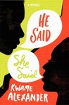 Download ebook He Said, She Said by Kwame Alexander