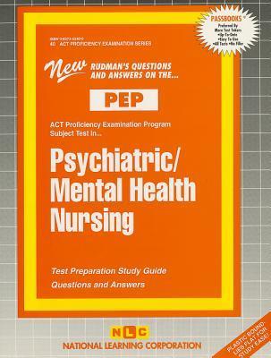 Psychiatric/Mental Health Nursing