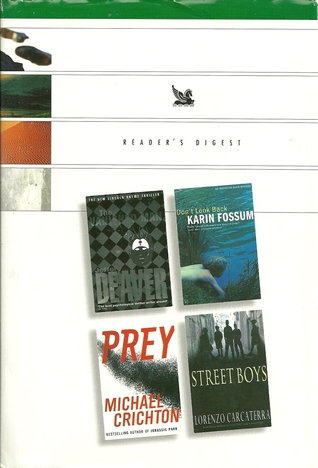 Reader's Digest Condensed Books 2003 - The Vanished Man, Don't Look Back, Prey, Street Boys