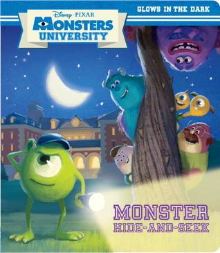 Monsters Hide and Seek: Glow-in-the-Dark Board Book