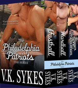 The Philadelphia Patriots Books 1-3 (Philadelphia Patriots #1-3)