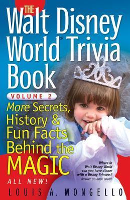 Walt Disney World Trivia Book Secrets History Fun Facts Behind