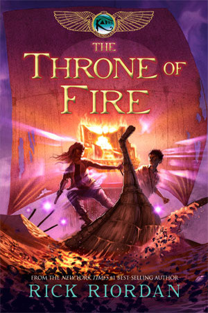 The Throne of Fire (The Kane Chronicles, #2)