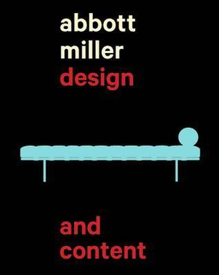 Open Book: Design and Content by Abbott Miller