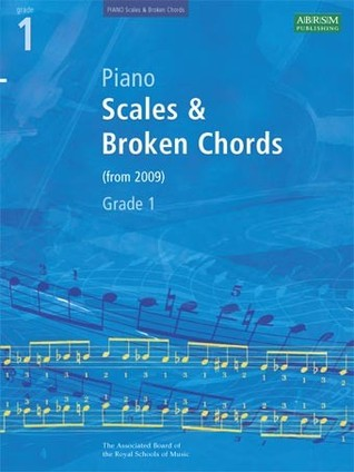 Piano Scales Broken Chords Grade 1 By Associated Board Of The