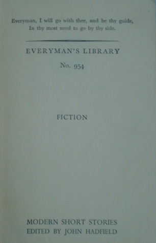 Modern short stories - Everyman's library No. 954